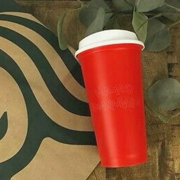 Starbucks Coffee Holiday HAND WARMER Tumbler Cup